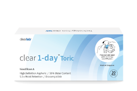 clear 1-day™ Toric (30s)