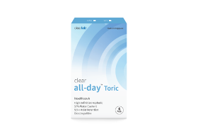 clear all-day™ Toric